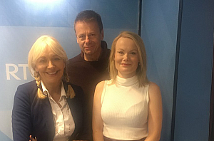 Audio: Ailbhe Griffith and Alan Gilsenan on ​RTÉ – Sunday with Miriam